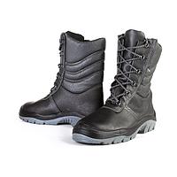 Ботинки ОМОН с меховым утеплителем