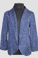 Кардиган для дівчинки Ajj design 1962 синій 10 років