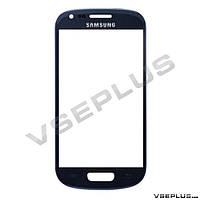 Стекло Samsung I8190 Galaxy S3 mini / I8200 Galaxy S3 Mini Neo, синий