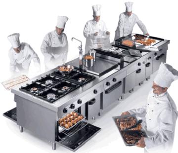 Оборудование для кухни ресторана и баров