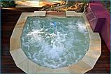 Композитная купель с водопадом, фото 3
