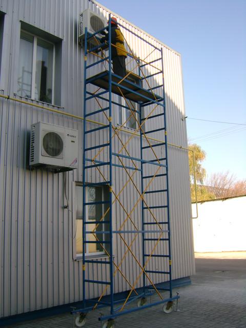 Передвижные подмости стальные (мини-подмости, вышки-туры)