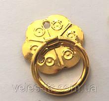 Ручка золото 20 мм