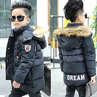 Зимнее пальто и длинные куртки для мальчика