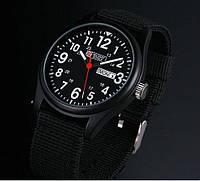 Мужские армейские часы Military Royale Black