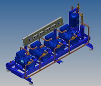 Проектирование, изготовление холодильных агрегатов.