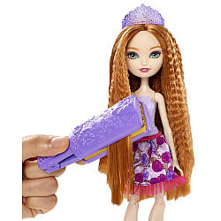 Кукла Ever after high Холли Охара Стильные причёски - Парикмахер Hairstyling Holly Style Doll