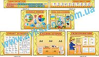 Комплект стендів для початкової школи (2020104)