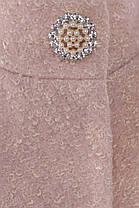Женское бежевое демисезонное пальто арт. Мелини 0442 - 6784, фото 3