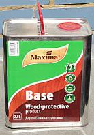 Грунтовка BASE Maxima деревозащитная алкидная Полисан 2,5 л (2000000090658)