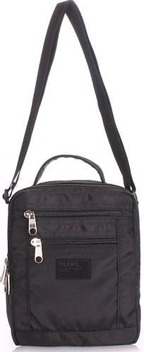 Компактная мужская сумка на плечо POOLPARTY siteimage-crossbody-black