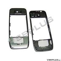 Средняя часть Nokia E52, серый, с боковыми кнопками, с динамиком