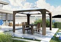 Беседка, балдахин, навес от солнца Canopy Royal песочный, мебель из искусственного ротанга, техноротанг