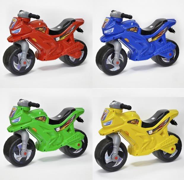 Мотоцикл 2-колесный с сигналом 4 цвета