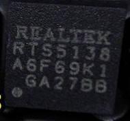 Микросхема Realtek RTS5138 для ноутбука