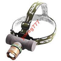 Налобный тактический фонарик Police BL-6866