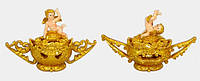 Вазочка декоративная Ангел 15см, 2 вида