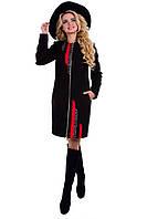 Женское облегающее осеннее пальто арт. Адажио 6957
