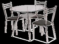 Стол обеденный Finezja A серый (Signal TM)