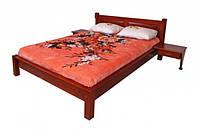 """Кровать """"Гармония"""" из массива ольхи (Темп)"""
