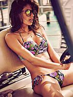 Купальник с цветочным узором The Stitched Getaway Halter Victoria's Secret