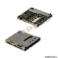 Разъем на SIM карту Samsung I9300 Galaxy S3 / N5100 Galaxy Note 8.0 / N5120 Galaxy Note 8.0