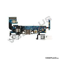 Шлейф Samsung A500F Galaxy A5 / A500H Galaxy A5, с разъемом на зарядку, с разъемом на наушники, с микрофоном