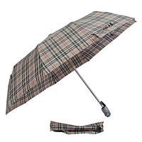 Зонт кофейная клетка 302P-03