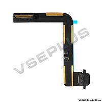 Шлейф Apple iPad AIR, черный, с разъемом на зарядку