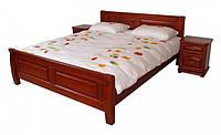 """Кровать """"Лана"""" из массива ольхи (Темп)"""