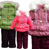 Зимний комбинезон для девочки 7480
