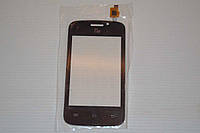 Оригинальный тачскрин / сенсор (сенсорное стекло) для Fly IQ239 Era Nano 2 (черный цвет) + СКОТЧ В ПОДАРОК