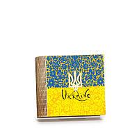 Шкатулка-книга на магните с 4 отделениями Квітковий прапор