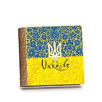 Шкатулка-книга на магните с 9 отделениями Квітковий прапор, фото 1