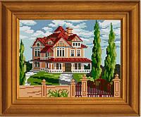 """Схема для вышивания бисером на атласе """"Хочу новый дом"""" ЕА-016"""