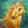 «Лошадка» картина маслом