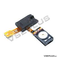 Шлейф Samsung I9220 Galaxy Note / N7000 Galaxy Note, с разъемом на наушники, с динамиком