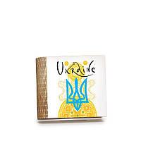 Шкатулка-книга на магните с 4 отделениями Радісний жовтий, фото 1