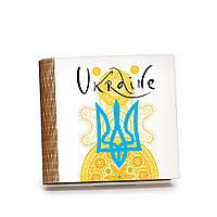 Шкатулка-книга на магните с 9 отделениями Радісний жовтий, фото 1