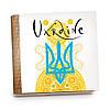 Шкатулка-книга на магните с 9 отделениями XL Радісний жовтий