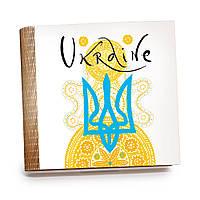 Шкатулка-книга на магните с 9 отделениями XL Радісний жовтий, фото 1