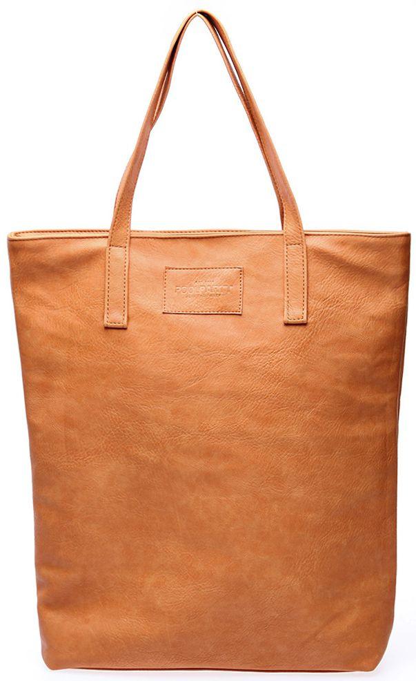 Бежевая женская сумка POOLPARTY poolparty-tulip-beige