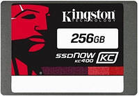 SATA-SSD-MLC 256GB Kingston SSDNow SKC400 (SKC400S37/256G)