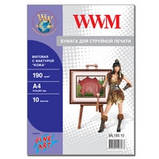 """Фотопапір WWM матовий """"Шкіра"""", 190г/м кв., А4 , 10л (ML190.10), фото 2"""