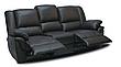 Мягкий трехместный кожаный диван с реклайнером - ALABAMA, фото 5