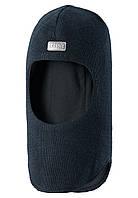 Зимняя шапка шлем для мальчиков Lassie 718695-6990. Размер L,M, XS.