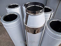 Теплоизолированная труба из нержавейки диаметром 120/180мм