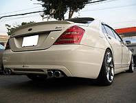 """Спойлер на крышку багажника стиль """"Lorinser"""" для Mercedes S-Сlass W221, фото 1"""