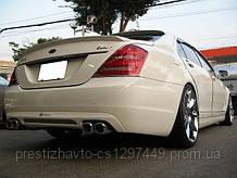 """Спойлер на крышку багажника стиль """"Lorinser"""" для Mercedes S-Сlass W221"""