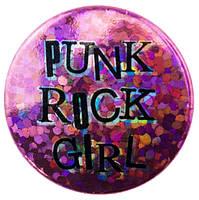 Значок Punk Rock Girl